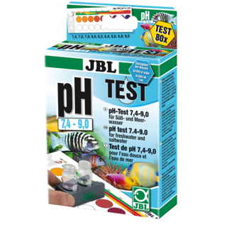 pH Test 7.4-9.0 - JBL Aquatest