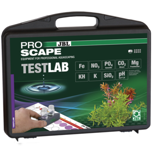 TESTLAB - JBL - Mallette de tests KH-NO3-SIO2-FE-K-PH-MG-CO2-PO4
