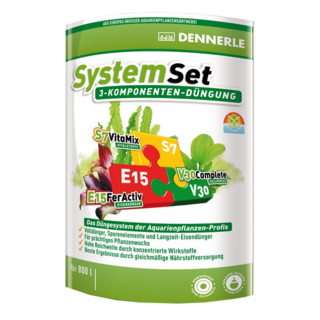 SystemSET 25 Dennerle - Set de fertilisants Fer+Engrais+Vitamines