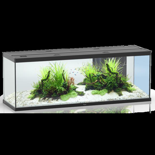 Aquarium Style Led 150 Noir Aquatlantis Avec Son Meuble Tout