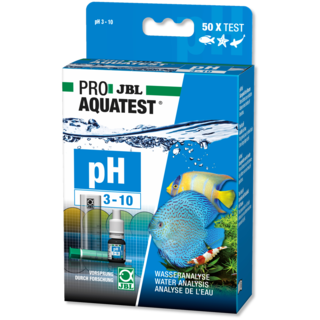 Test pH 3.10-10.0 - JBL Aquatest