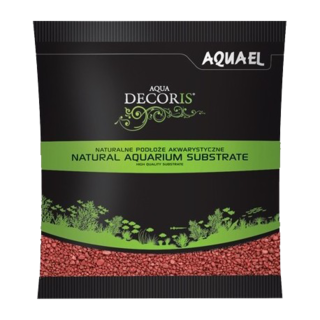 Gravier Rouge 2-3mm - Aquael 1Kg