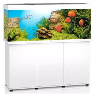 Aquarium RIO 450 LED 2x31w BLANC  + MEUBLE