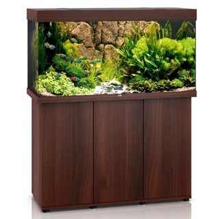 Aquarium RIO 350 LED 2x29w BRUN  + MEUBLE