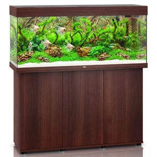 Aquarium RIO 240 LED 2x29w BRUN  + MEUBLE