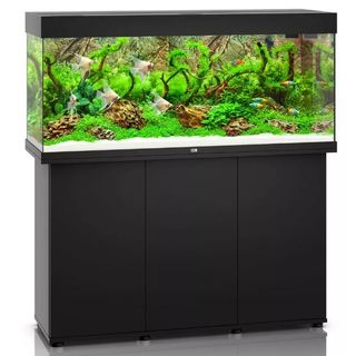 Aquarium RIO 240 LED 2x29w NOIR  + MEUBLE