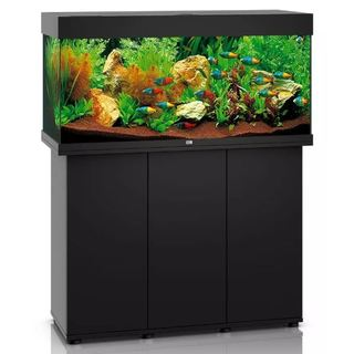 Aquarium RIO 180 LED 2x23w NOIR  + MEUBLE