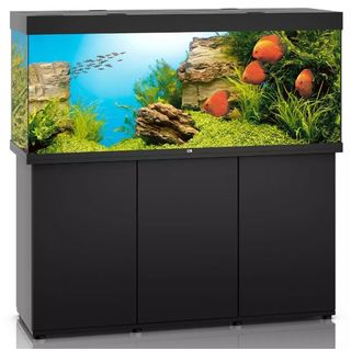 Aquarium RIO 450 LED 2x31w NOIR  + MEUBLE