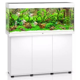 Aquarium RIO 240 LED 2x29w BLANC  + MEUBLE