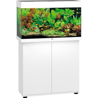 Aquarium RIO 125 LED 2x14w BLANC  + MEUBLE