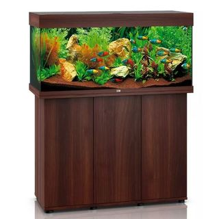 Aquarium RIO 180 LED 2x23w BRUN  + MEUBLE