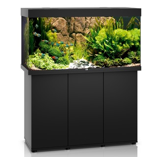 Aquarium RIO 350 LED 2x29w NOIR  + MEUBLE