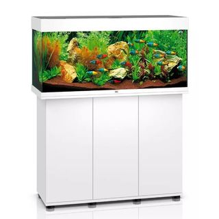Aquarium RIO 180 LED 2x23w BLANC  + MEUBLE