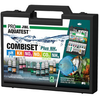 PROAQUA COMBISET PLUS NH4 JBL - coffret de 7 tests de l'eau