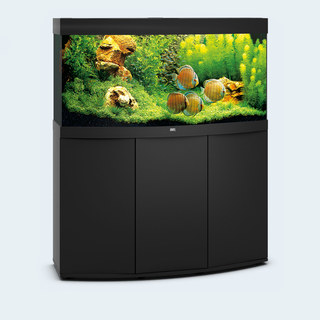 Aquarium VISION 260 LED (2x29w) NOIR  JUWEL+ MEUBLE