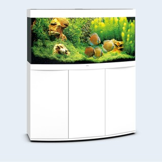 Aquarium VISION 260 LED (2x29w) BLANC  JUWEL+ MEUBLE