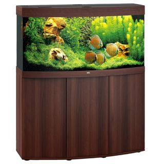Aquarium VISION 260 LED (2x29w) BRUN  JUWEL+ MEUBLE