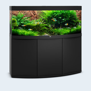 Aquarium VISION 450 LED (4x31w) NOIR  JUWEL+ MEUBLE
