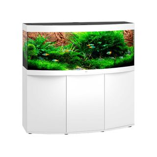 Aquarium VISION 450 LED (4x31w) BLANC  JUWEL+ MEUBLE
