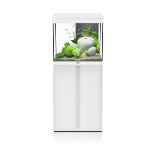 Aquarium ELEGANCE Expert 60 LED 2.0 Blanc + MEUBLE Blanc