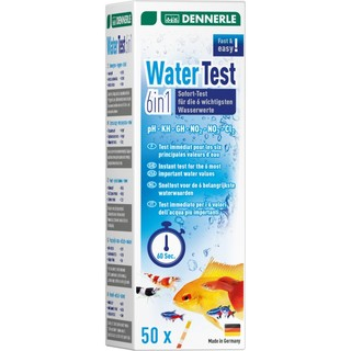 Water Test 6 en 1 Dennerle