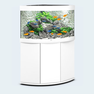 Aquarium TRIGON 190 BLANC Juwel + Meuble