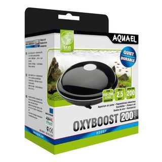 OXYBOOST Plus 200 - Pompe à air pour max 200L - AQUAEL